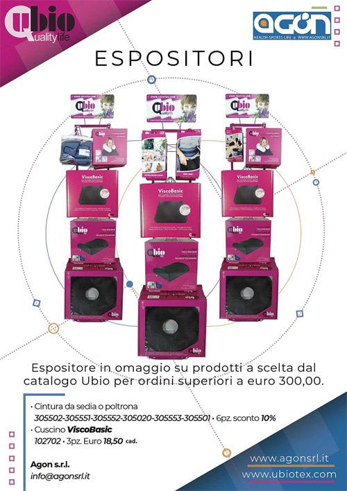 Promozione Espositore Ubio - Promozione espositori UBIO estate 2018